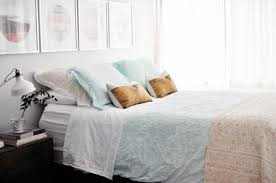 bedding blog one duvet three bloggers styling the soft washed linen bedding