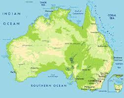 Australia Population Map Www Mappi Net Maps Of Countries Australia