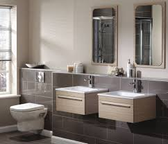 Dual Vanity Sink Bathroom Modern Functionality Modular Bathroom With Double
