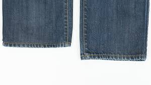 Used Jeans Clothing Line How To Hem Jeans While Keeping Original Hem Youtube