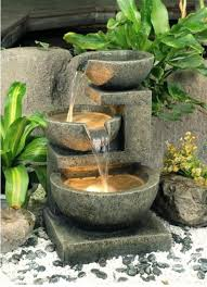 outdoor water features with lights 20 stunning garden water features that will leave you speechless