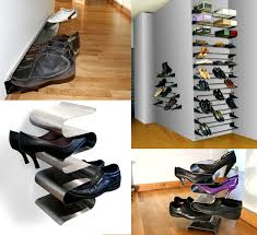 wall mounted shoe cabinet furniture terrific ideas for storage wall decoration using silver