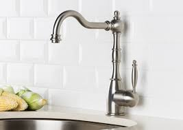 victorian kitchen faucet hahn victorian single lever classic kitchen faucet stainless steel