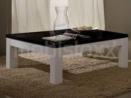 Carre Blanc Soldes by Table Basse Carr Noir Et Blanc Table Basse Vertigo Laque Blanc