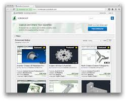 autodesk screencast through the interface
