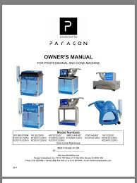 paragon is the leading manufacturer of concession equipment