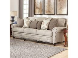 Brothers Furniture Sofa Smith Brothers 237 Traditional Large Sofa With Nailhead Trim