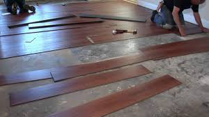 Vinyl Flooring Subfloor How To Install Vinyl Plank Flooring On Concrete Base