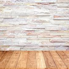 wood floor with marble stone wall texture background u2014 stock photo