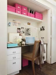 closet desk contemporary den library office