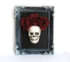 skull wall art sugar skull art halloween wall art halloween