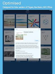 apple itunes template app ms office u0026 iwork pages number templates