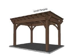 12 X 16 Pergola by Pergola Kits U0026 Pergola Designs Kit Construction Pergola Planning