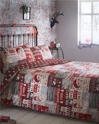 Superking Duvet Sets Superking Duvet Set Christmas Bedding Red Santa Claus Super Size