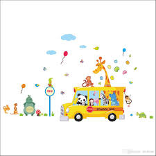 Nursery Decals For Walls by Carton Wall Stickers For Nursery School Kids Rooms Decorative Wall