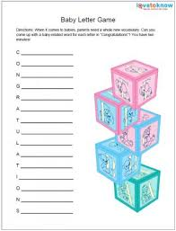 baby showergames free printable baby shower lovetoknow