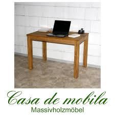 Massivholz Schreibtisch Buche Echtholz Pc Tisch Schreibtisch 110x70 Holz Wildeiche Massiv Geölt