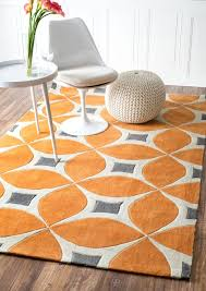 Modern Orange Rug 20 Best Rugs Images On Pinterest Contemporary Rug Pads
