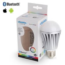 light bulbs controlled by iphone chichinlighting e26 7w bluetooth led bulb e27 bluetooth led light