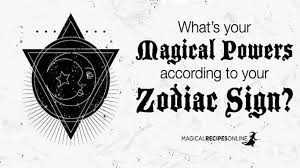 Zodiac Sign Zodiac Signs And Magic What Are You Good At Magical Recipes Online