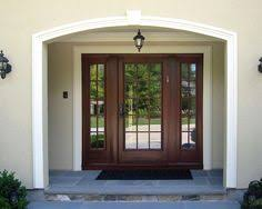 Traditional Exterior Doors Entry Doors With Sidelights Garage Apartments Pinterest