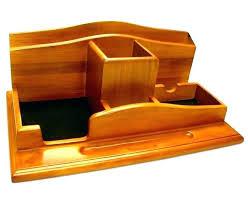 Wood Desk Organizers Wooden Desktop Drawers Wood Desk Organizer With