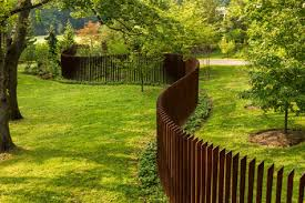 Backyard Fence Ideas Pictures Fabulous Sculptural Fence Front Yard To Keeps Deer Out Garden