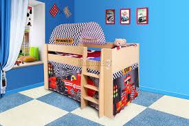 FoxHunter Wooden Mid Sleeper Cabin Bunk Bed Kids Tent Single FT - Mid sleeper bunk bed