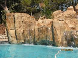 Fake Rocks For Landscaping by Artificial Rock Waterfalls Landscapes U0026 Swimm