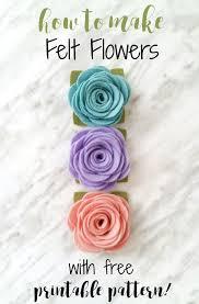felt flowers best 25 felt flower tutorial ideas on felt roses
