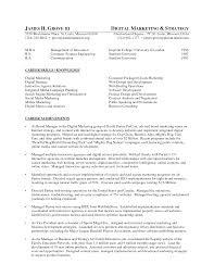 cover letter digital media planner resume digital media planner
