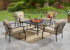 Fire Pit Outdoor Furniture by Fire Pit Patio Set Ebay
