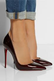 christian louboutin wedges now thats what you call red bottoms