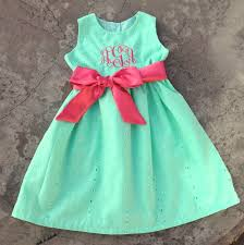 Little Girls Clothing Stores Monogrammed Baby Clothes Personalized Baby Girls Dress