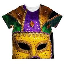 large mardi gras mask mardi gras large costume mask all toddler t shirt ebay