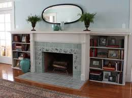 creating an art tile fireplace old house restoration products