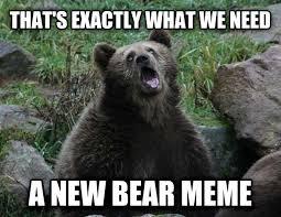 Meme Bear - sarcastic bear know your meme