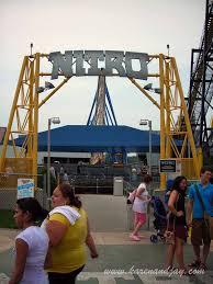 Nitro Six Flags Six Flags Great Adventure July 2007