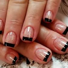 black tip nail designs top 38 reviews in pictures nails in pics