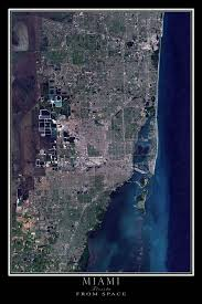 satellite map of florida best 25 map of miami florida ideas on map of central