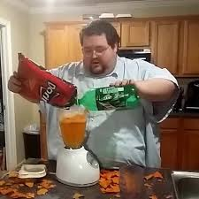Mixer Eyes Meme - mixing doritos mountain dew in a blender boogie2988 know