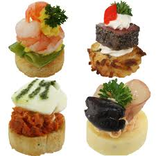 canape de luxe convenience canapes grand deluxe combo box gourmet foods inc