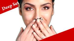 deep set eyes makeup tutorial how to apply eyeshadow for deep set eyes