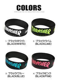 colored rubber bracelet images Renovatio rakuten global market all thrasher rubber band jpg