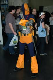 deathstroke costume halloween another take on the scales deathstroke the terminator by edwick