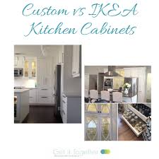 are ikea kitchen cabinets in stock kitchen cabinets the difference between custom vs ikea