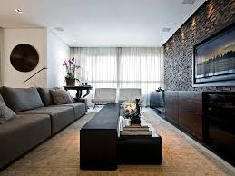 sensational flower decorate on led tv wall living room hardwood