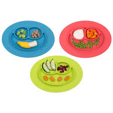 baby plates aliexpress buy silicone feeding food plate tray dishes food