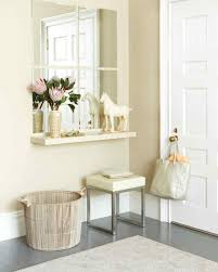 White Entry Table by Entryway Organizing Ideas Martha Stewart