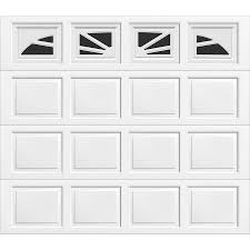 shop wayne dalton 9100 series 108 in x 84 in insulated single